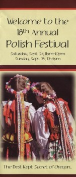 2011 Polish Fest cover