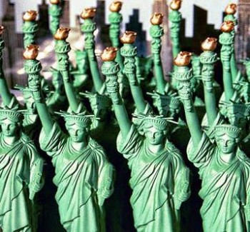 Toy Statues of Liberty